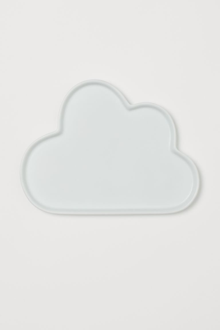 Assiette nuage en porcelaine - Blanc - Home All | H&M FR