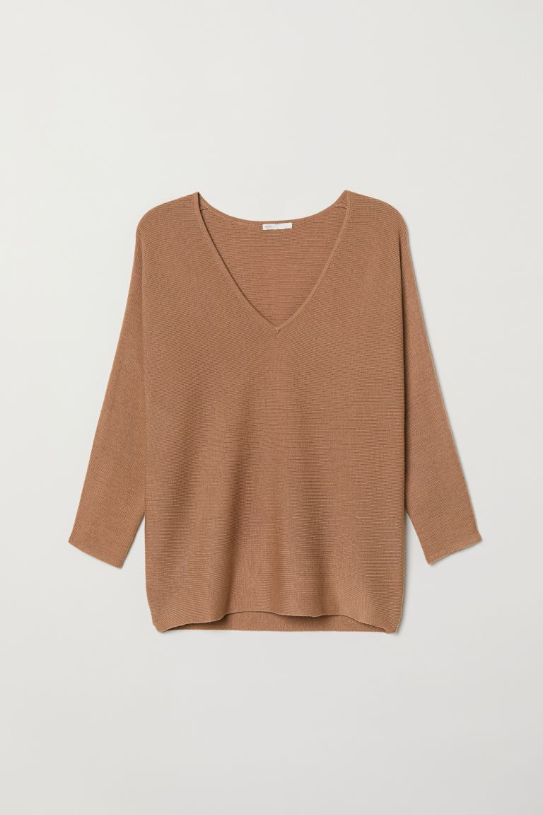 Strickpullover - Beige - Ladies | H&M AT