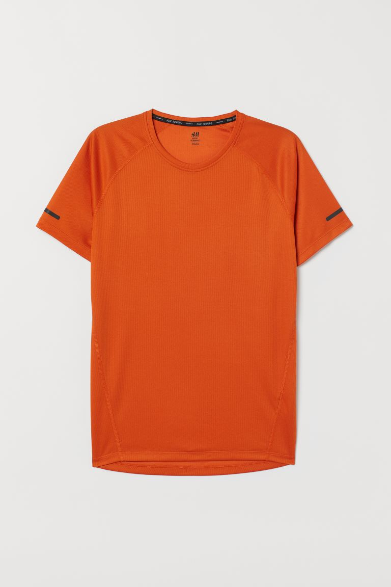 Löpartröja Regular Fit - Orange - HERR | H&M SE
