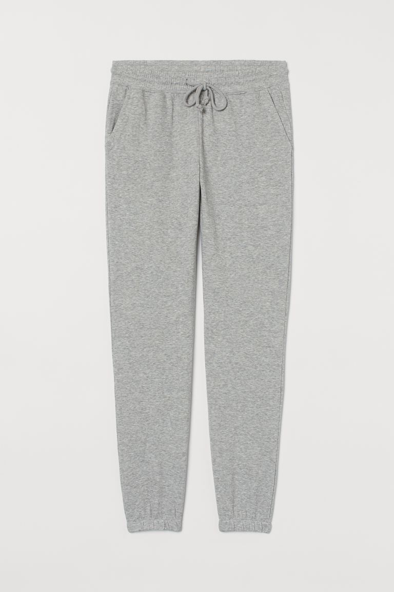 Sweathose - Graumeliert - | H&M DE 4. Best joggers and the most stylish loungewear separates at the moment to wear loungewear outside. Easy to execute and effortlessly chic.