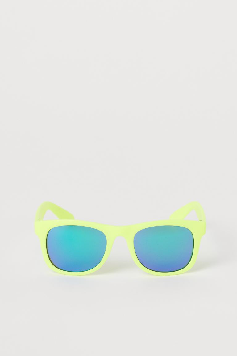 Sunglasses - Neon yellow/blue - Kids | H&M US