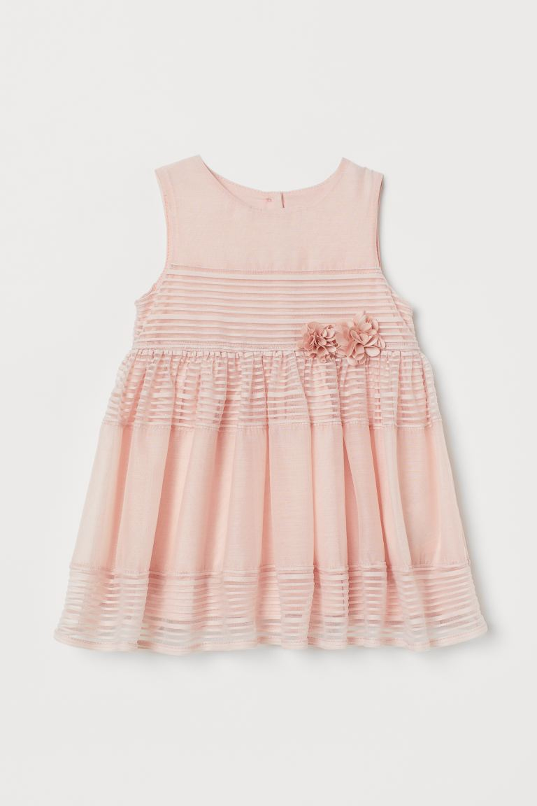 Flared-skirt dress - Light pink - Kids | H&M