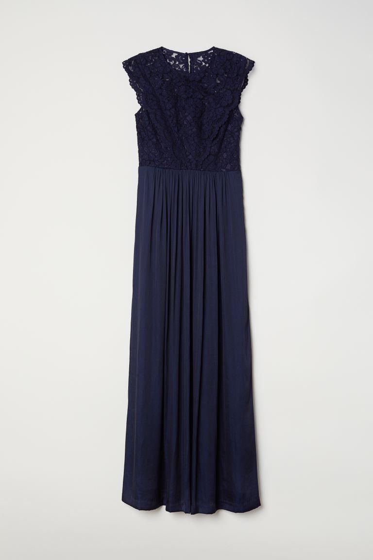 Verwonderlijk Maxi-jurk - Donkerblauw - DAMES | H&M NL ZH-06