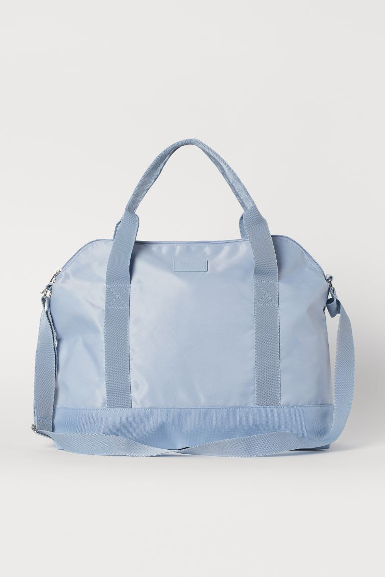 Small weekend bag - Light blue - Ladies | H&M IN