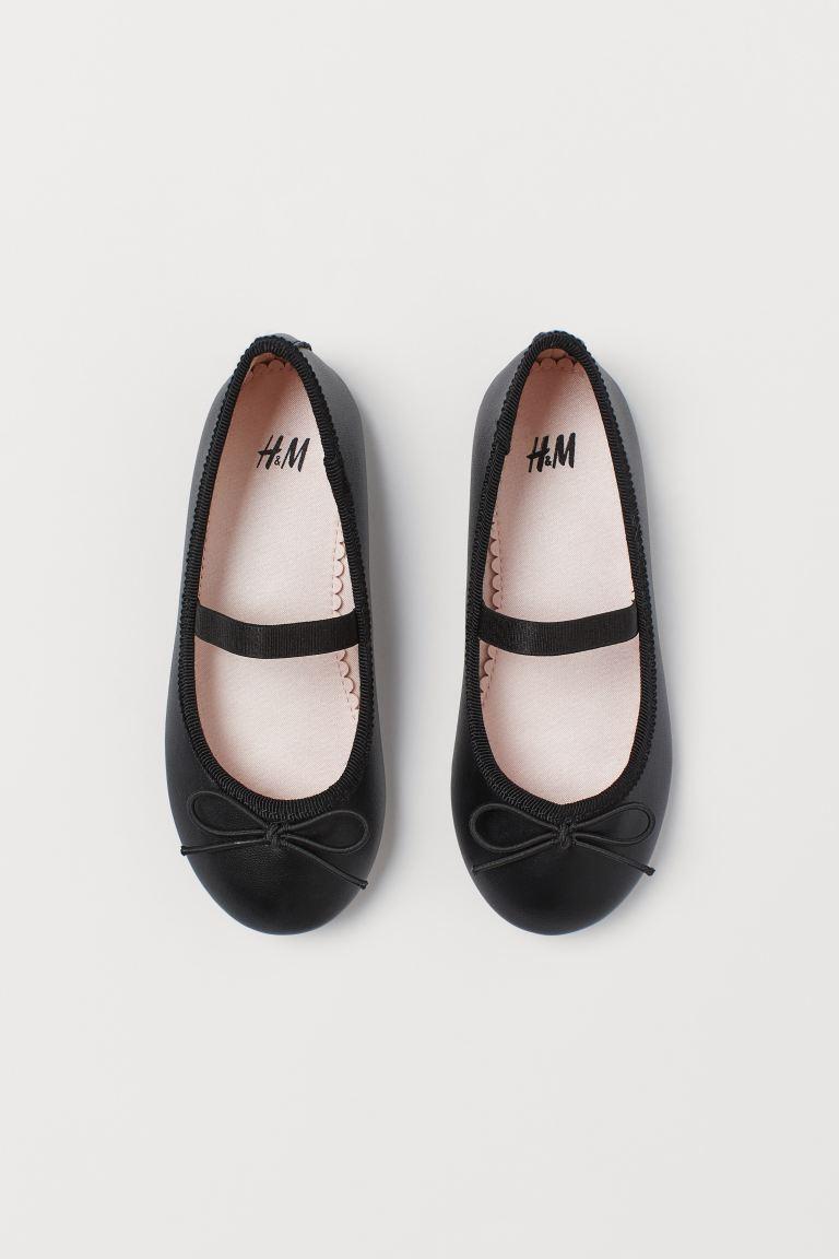 Ballet pumps - Black -    H&M GB