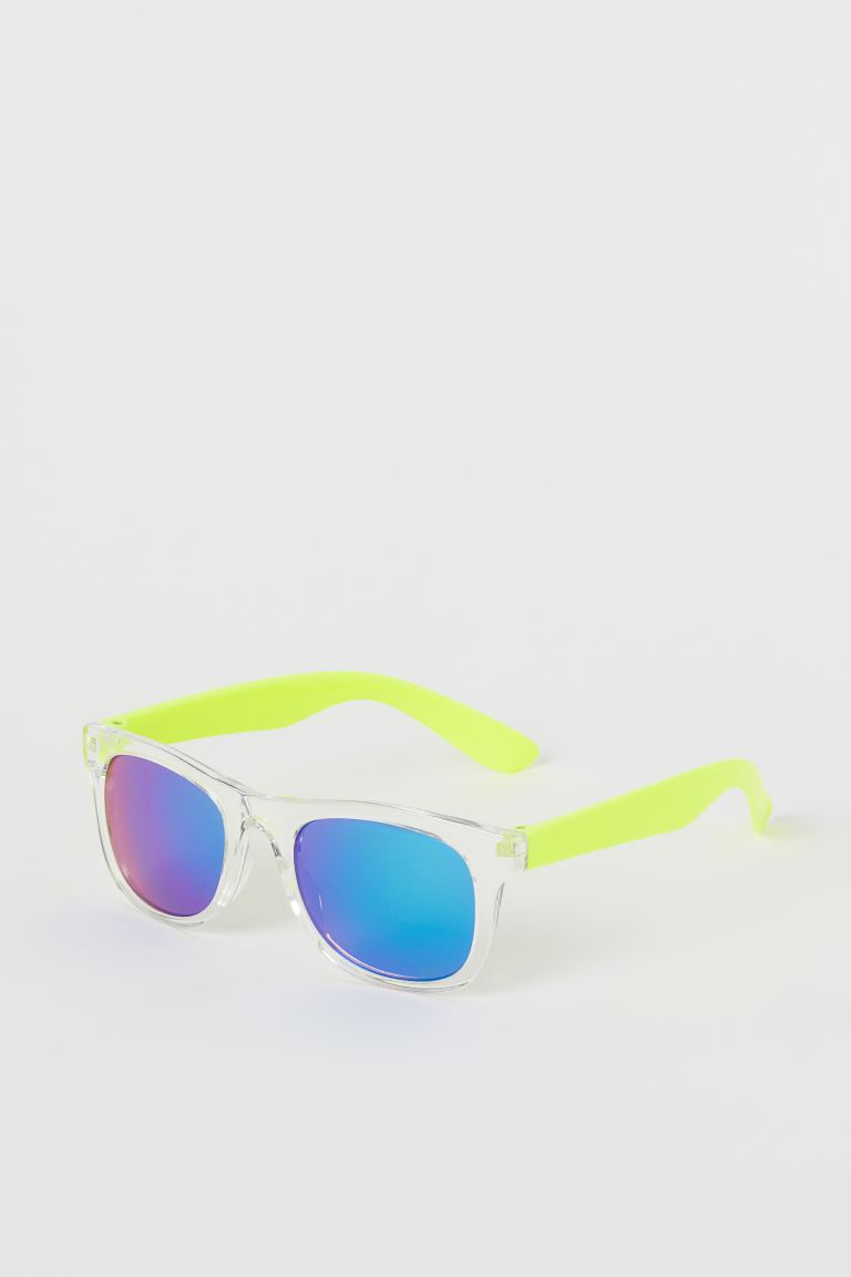 Sunglasses - Neon yellow - Kids | H&M