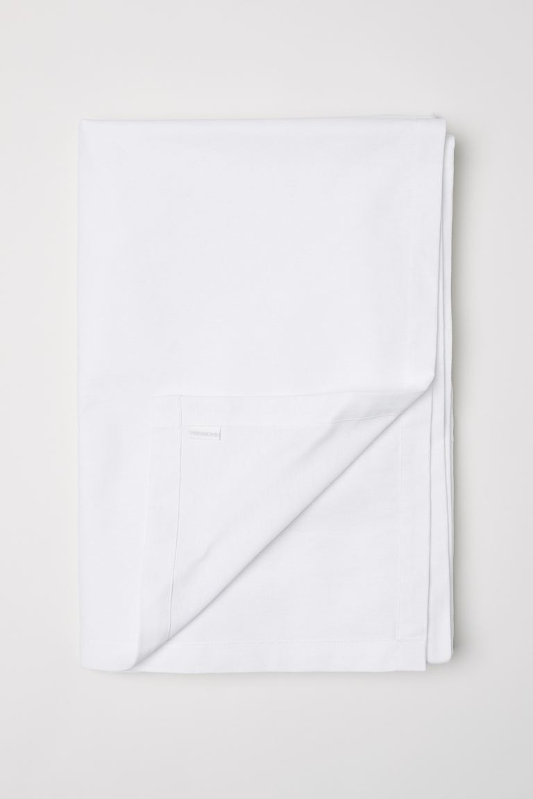 Cotton tablecloth - White - Home All | H&M IE