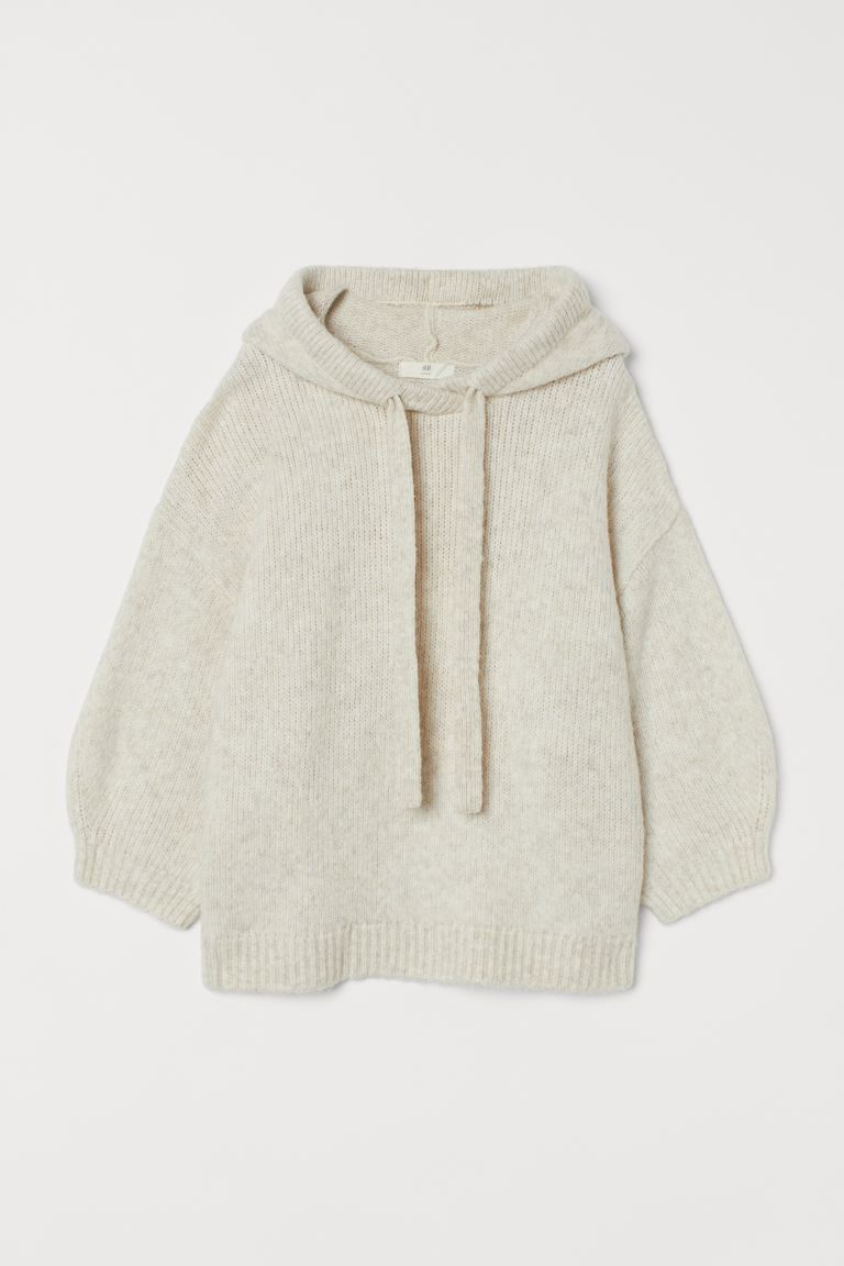 Kapuzenpullover - Hellbeigemeliert - Ladies | H&M AT