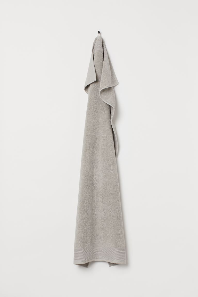 Bath Towel - Light taupe - Home All | H&M US