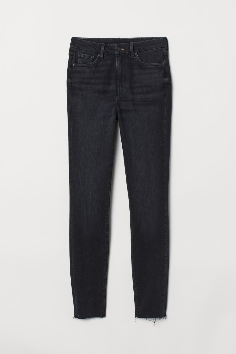 Embrace High Ankle Jeans - Schwarz Washed out - DAMEN | H&M CH