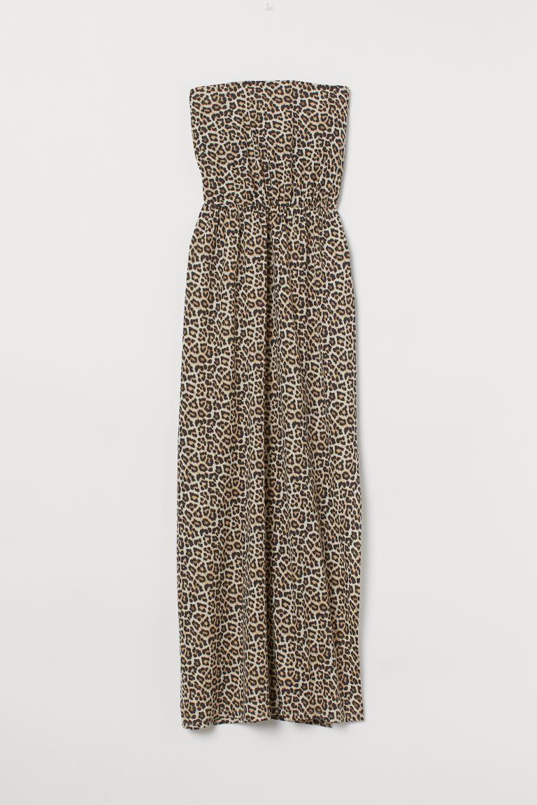 Verwonderend Maxi Dress - Beige/leopard print - Ladies | H&M US CC-64