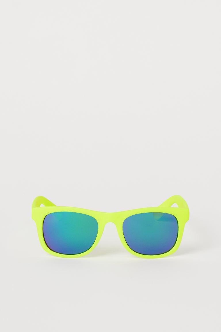 Sunglasses - Neon yellow - Kids   H&M GB
