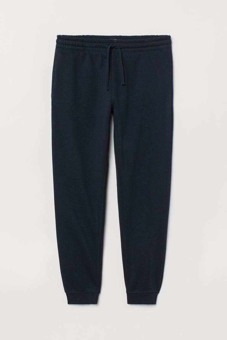 Sweatpants Regular Fit - Dark blue -  | H&M