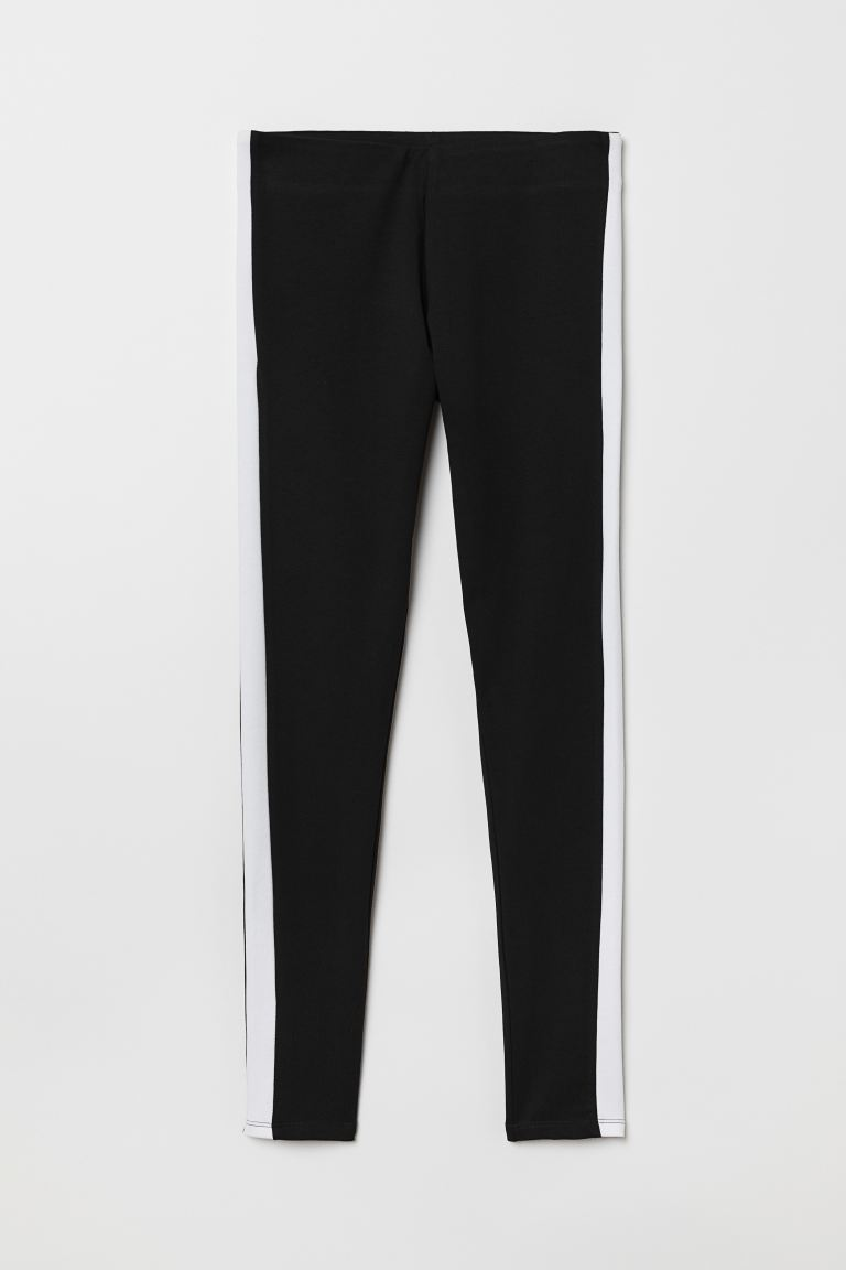 Leggings - Negro/Blanco - Ladies | H&M US