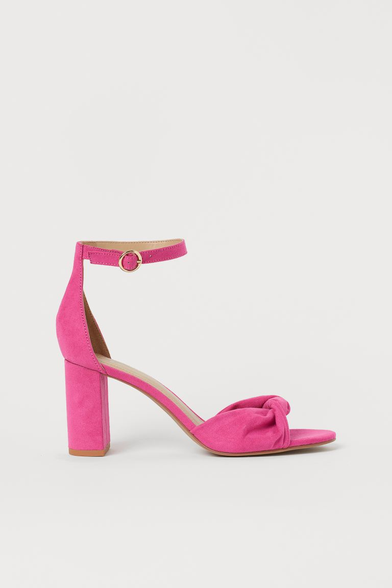 Sandals - Neon pink - Ladies | H&M