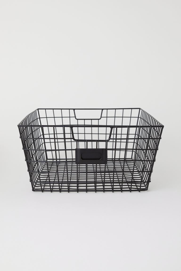 Tárolókosár - Fekete - HOME | H&M HU