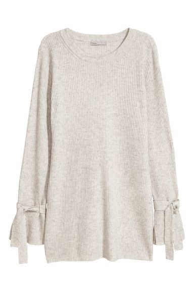 Cashmere Sweater - Light gray - Ladies | H&M CA