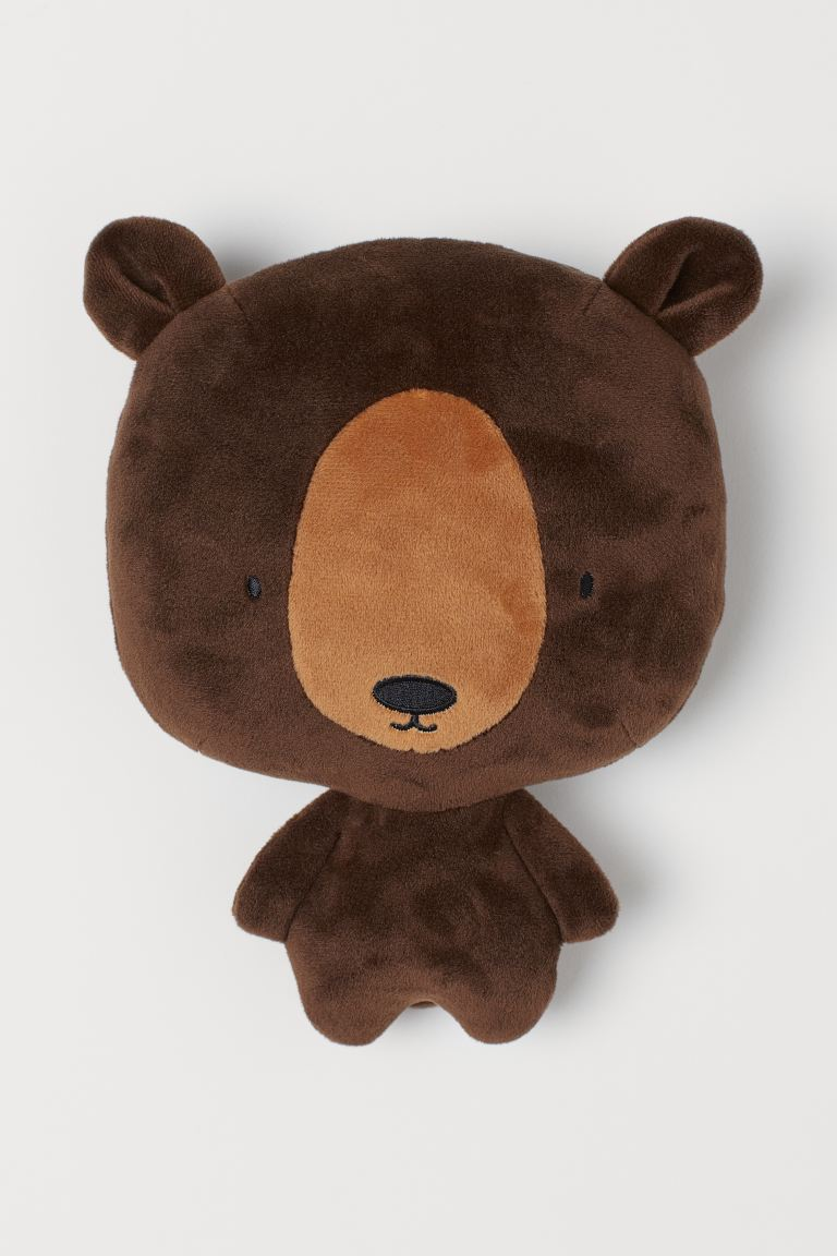 Soft toy - Dark brown/Bear - Home All | H&M IE