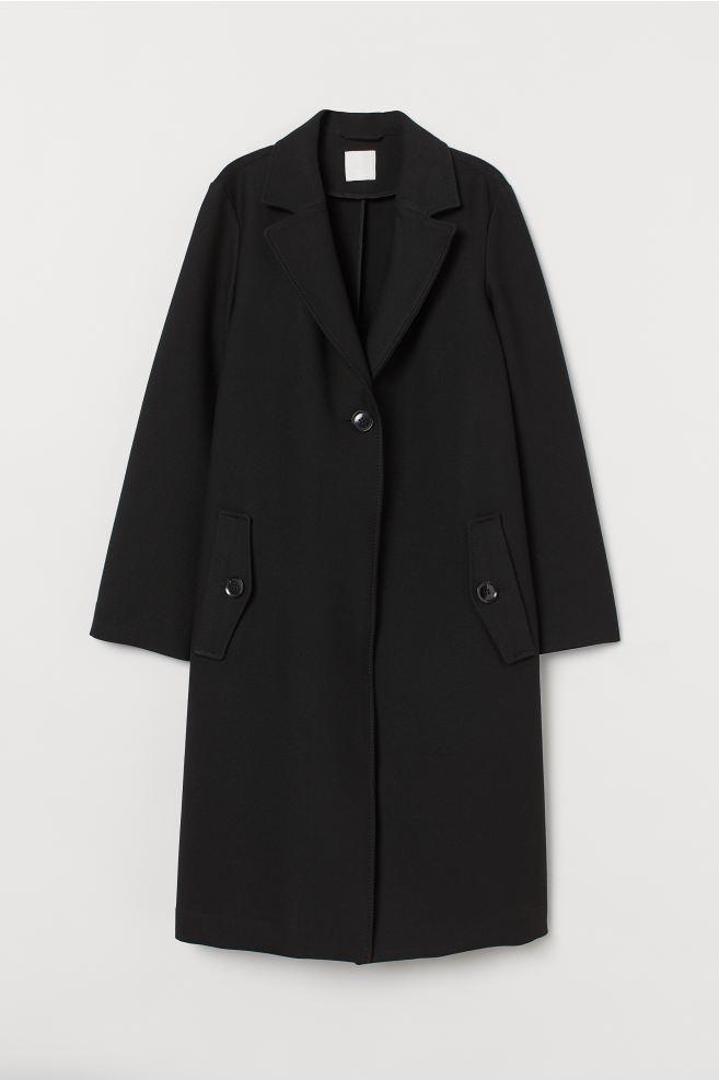 Straight-style coat