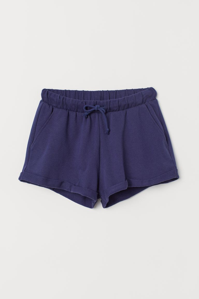Sweatshorts - Dunkelblau - Ladies | H&M DE