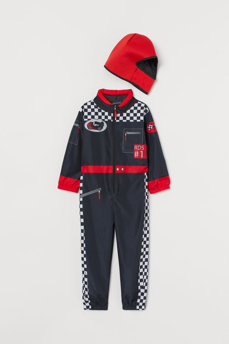 Fancy dress costume - Black/Racing car driver - Kids | H&M