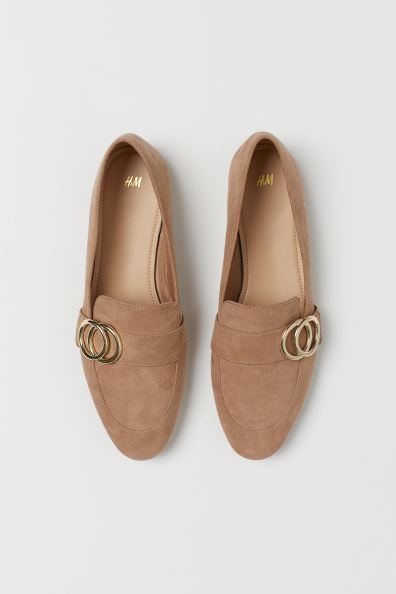 Loafers - Beige/Gold-coloured - Ladies | H&M 2