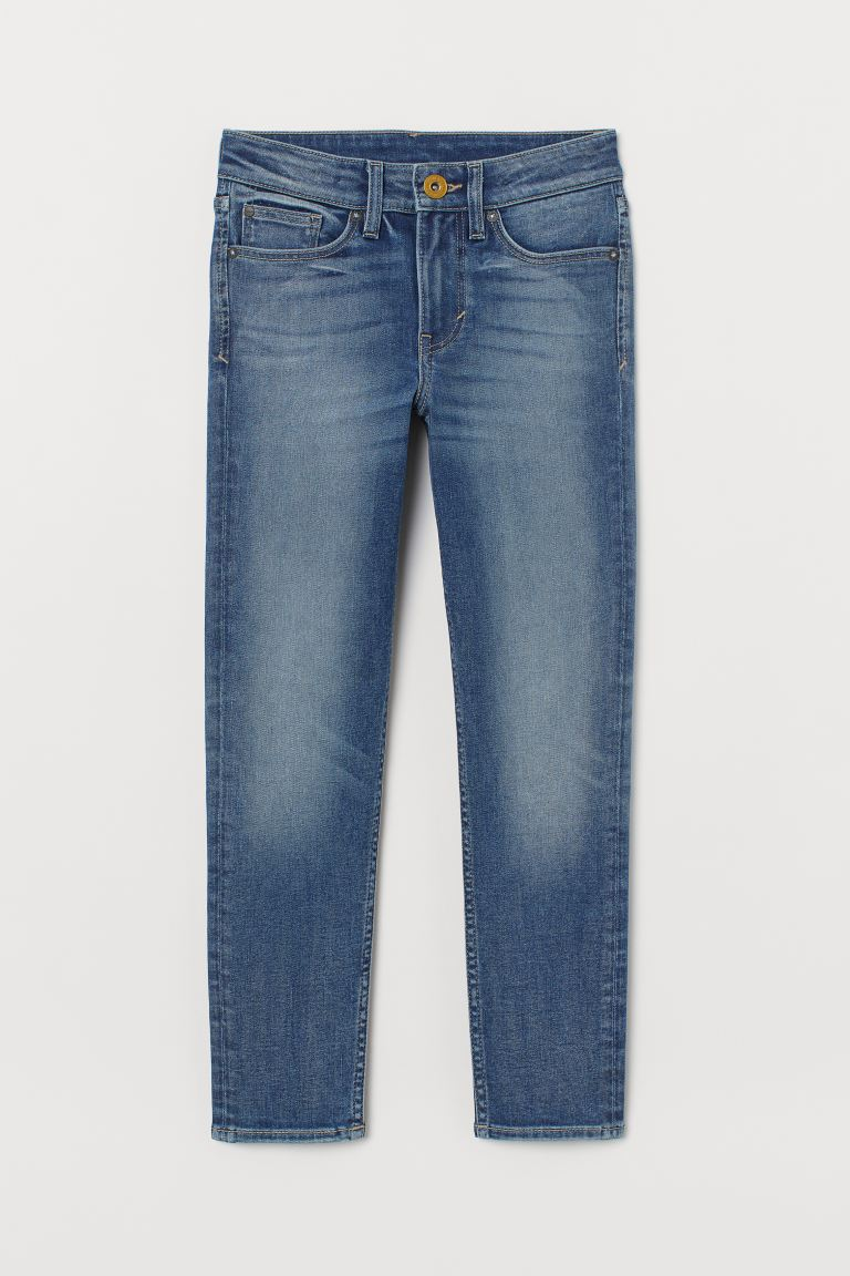 Superstretch Skinny Fit Jeans - Light denim blue/Washed - Kids | H&M GB
