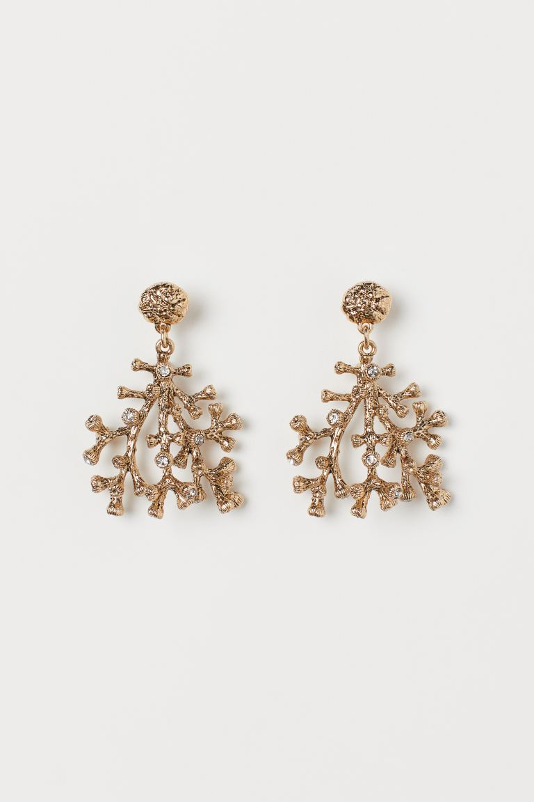 Earrings - Gold-colored - Ladies | H&M CA