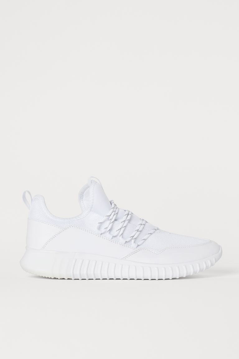 Mesh Sneakers - White -  | H&M US