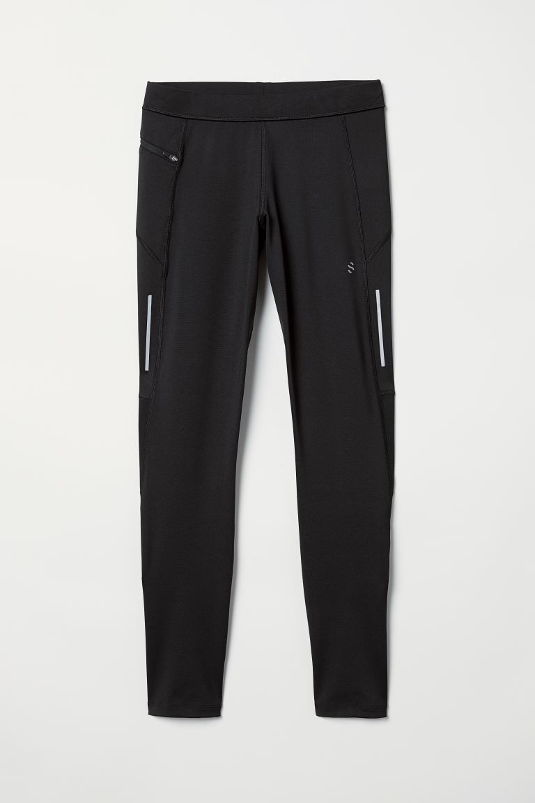 Running Tights - Black - Men | H&M US