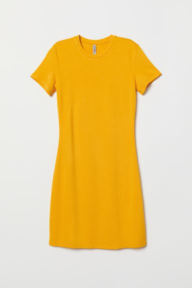 Jerseykleid - Gelb - Ladies | H&M AT