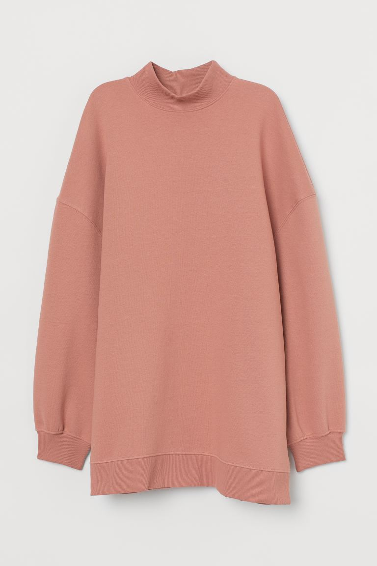 Felpa oversize - Rosa antico - DONNA | H&M IT