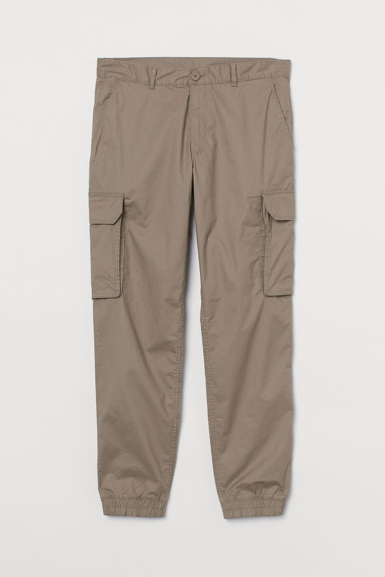 Relaxed Fit Cargo Pants - Beige - Men | H&M US