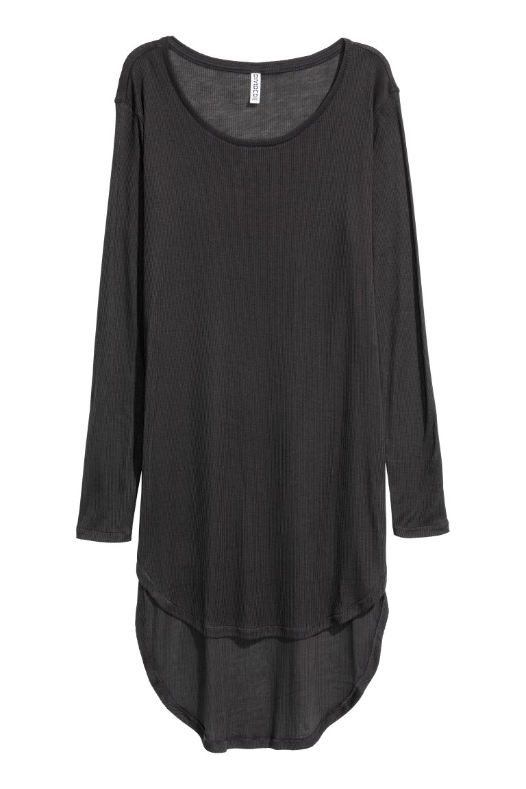 Long jersey top - Black - Ladies | H&M