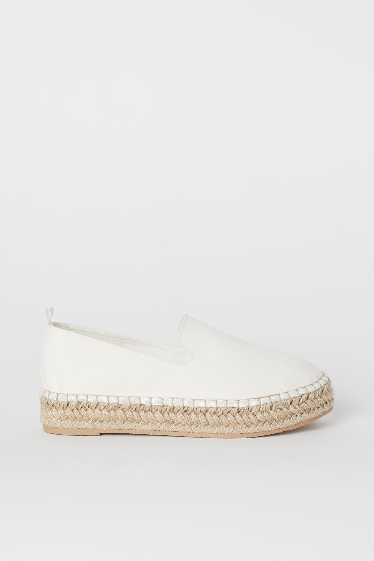 Espadrilles mit Plateau - Weiß - Ladies | H&M AT