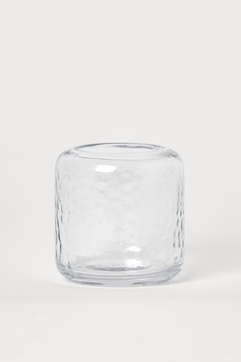 Photophore en verre - Verre transparent - Home All | H&M CA