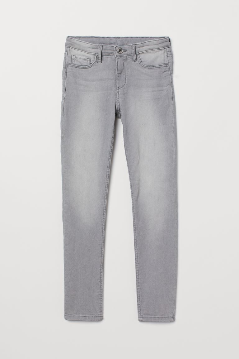 Superstretch Skinny Fit Jeans - Gris denim clair - ENFANT | H&M CH