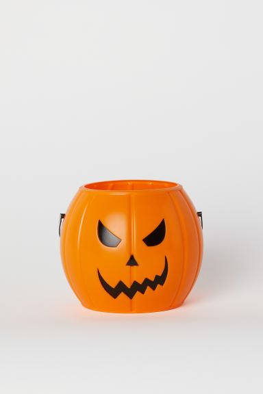 Seau Halloween - Orange/citrouille - ENFANT | H&M CH