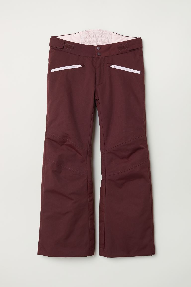 Padded outdoor trousers - Dark red - Kids | H&M IE