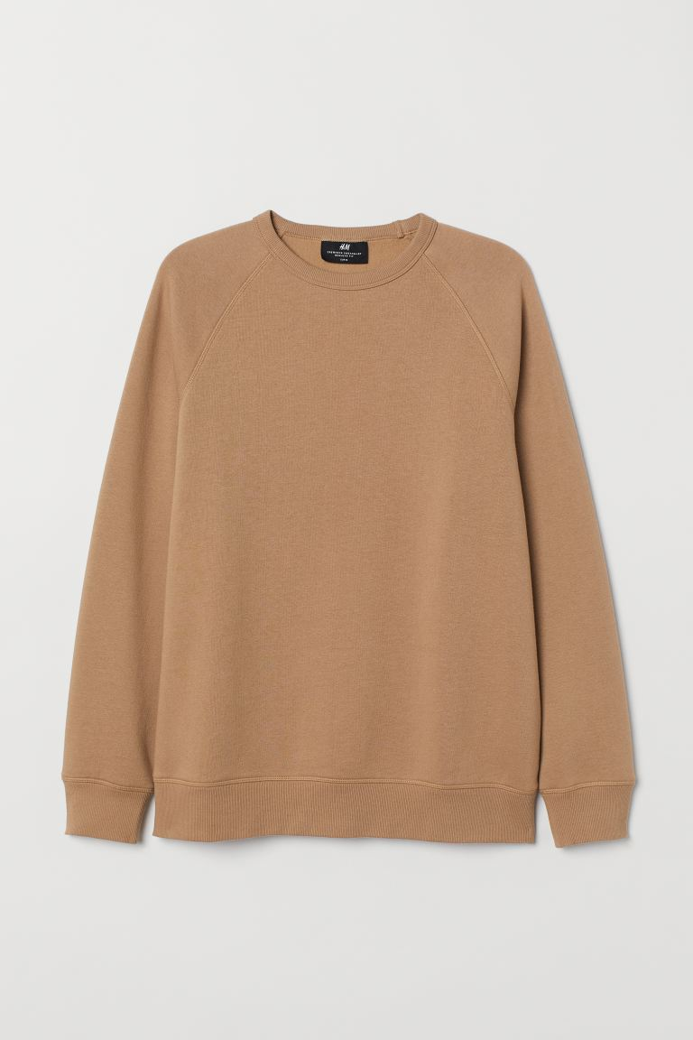 Sudadera Regular Fit - Beige oscuro - Men | H&M US