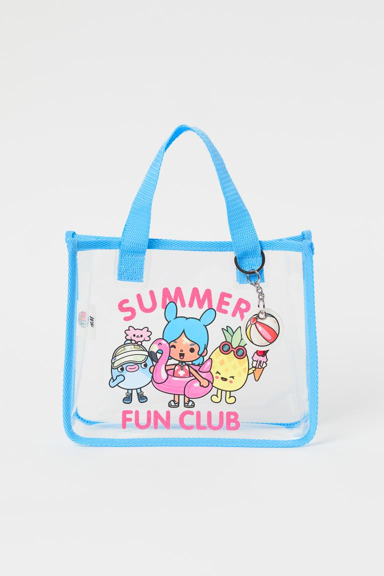 Transparent bag - Light blue/Toca Boca - Kids | H&M