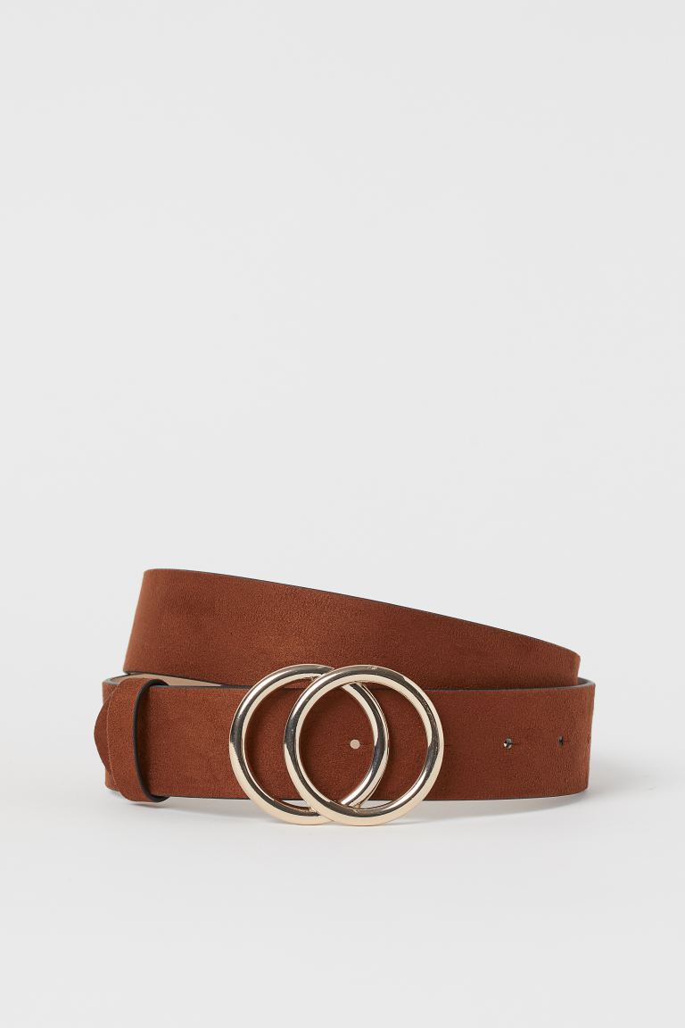 Wide Belt - Brown - Ladies | H&M CA