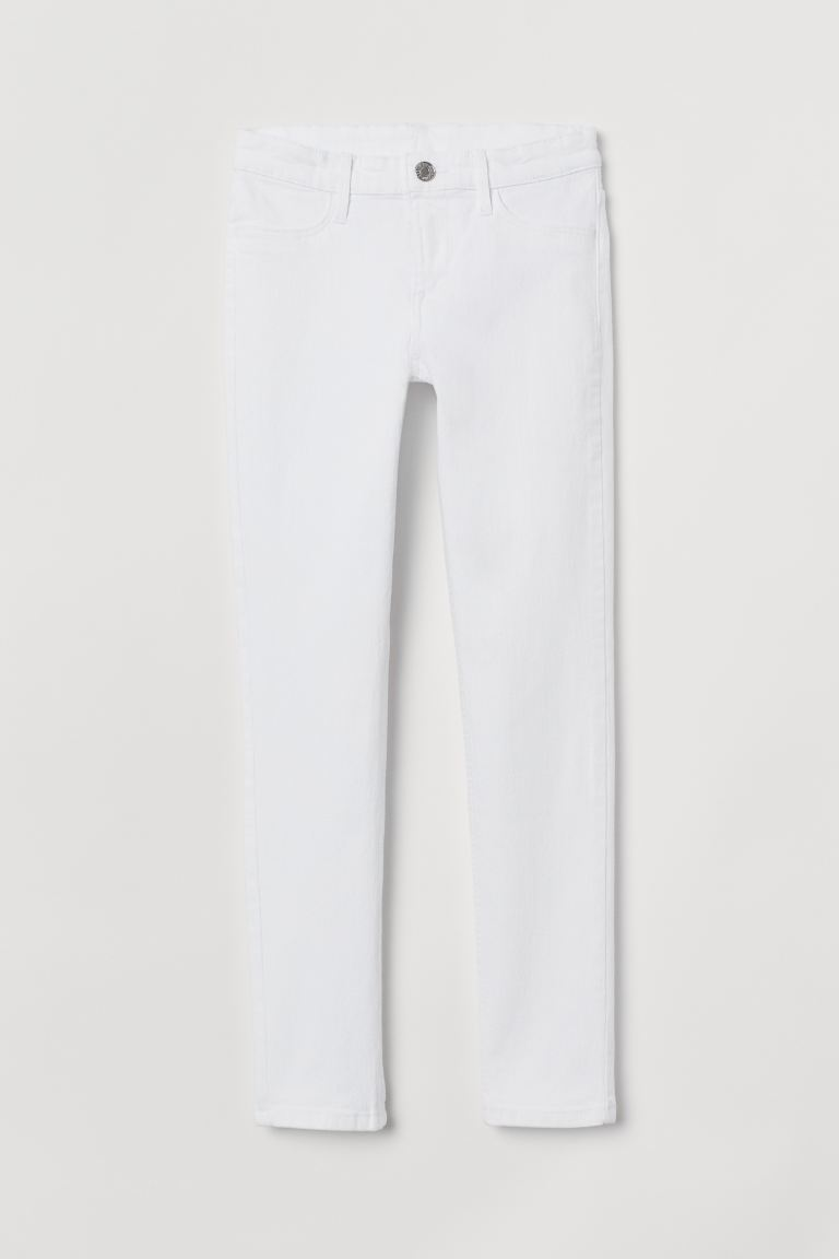 Skinny Fit Jeans - White - Kids | H&M CA