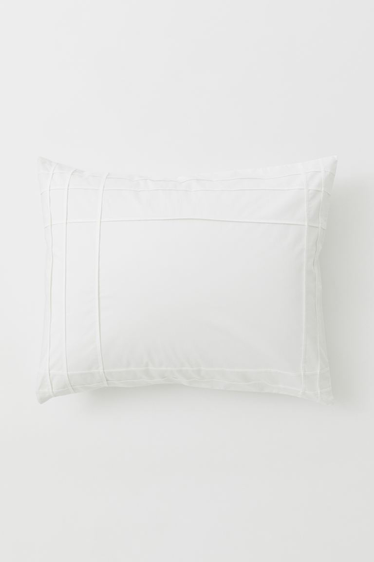 Federa in satin di cotone - Bianco - HOME | H&M IT