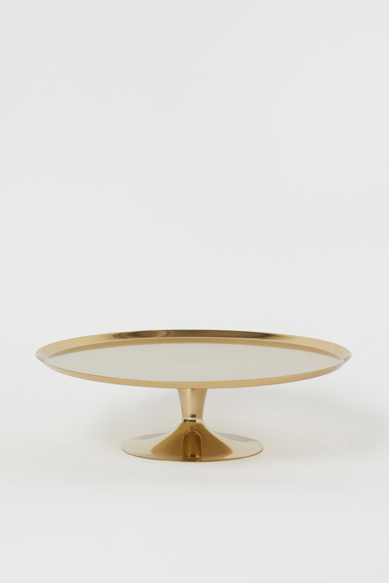 Metal Cake Stand - Gold-colored - Home All | H&M US
