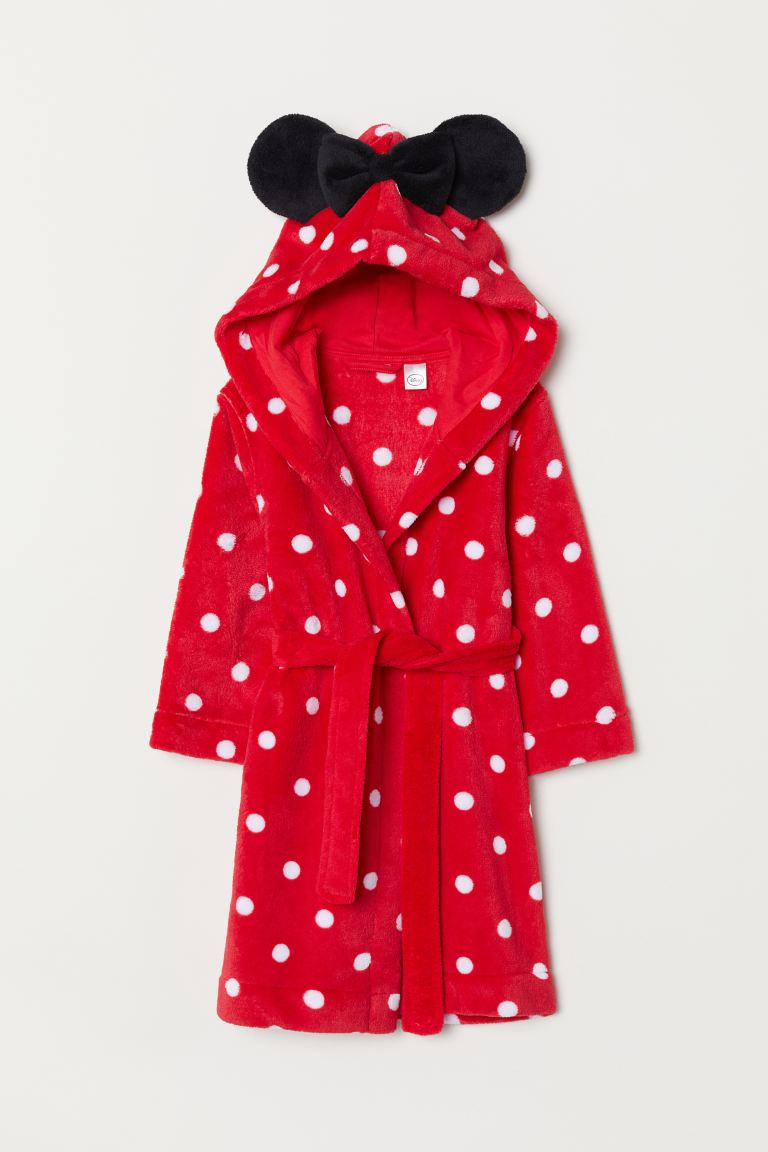 Fleece badjas - Rood/Minnie Mouse - KINDEREN | H&M BE