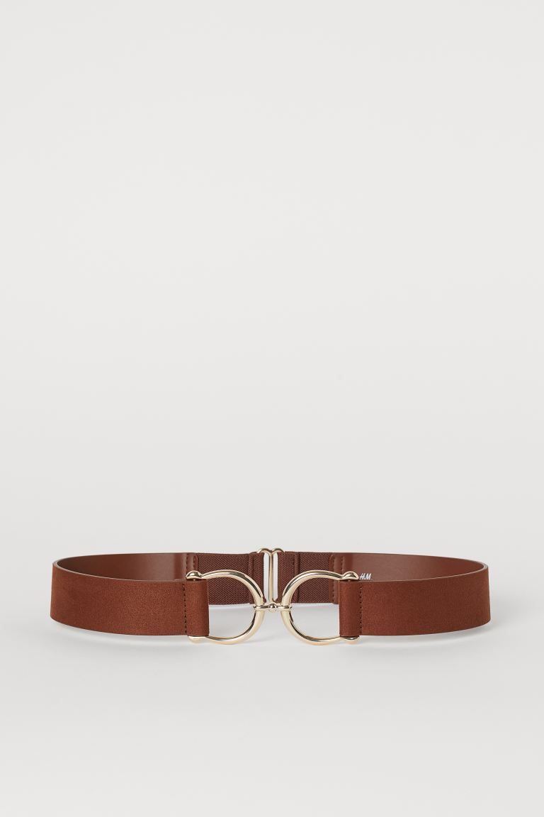 Waist Belt - Dark brown/gold-colored - Ladies | H&M CA