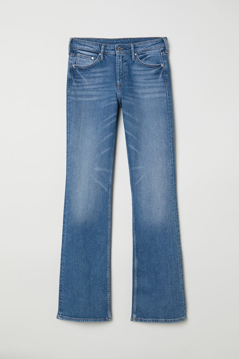 Bootcut Regular Jeans - Blau - Ladies | H&M DE