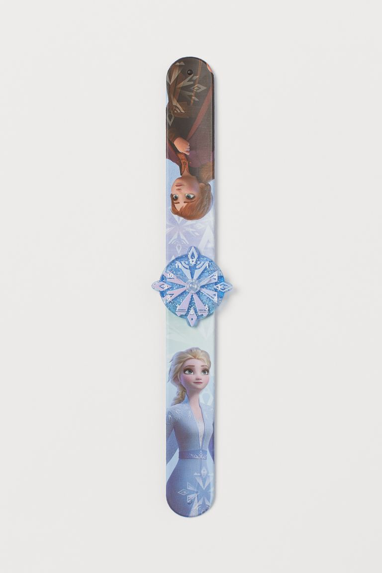 Decorated snap-on bracelet - Light blue/Frozen - Kids | H&M GB