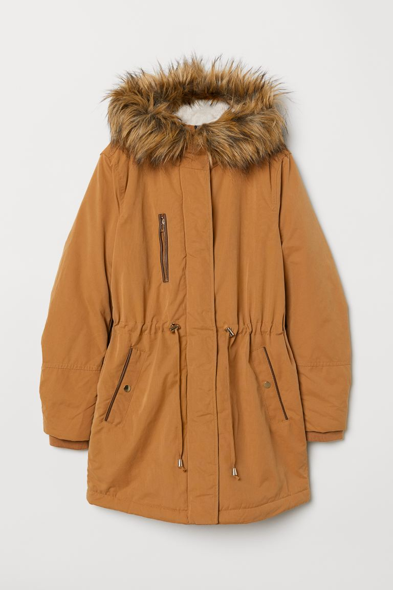 Brown Padded Parka